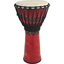 Toca Synergy Freestyle Djembe Level 1 Red 9""