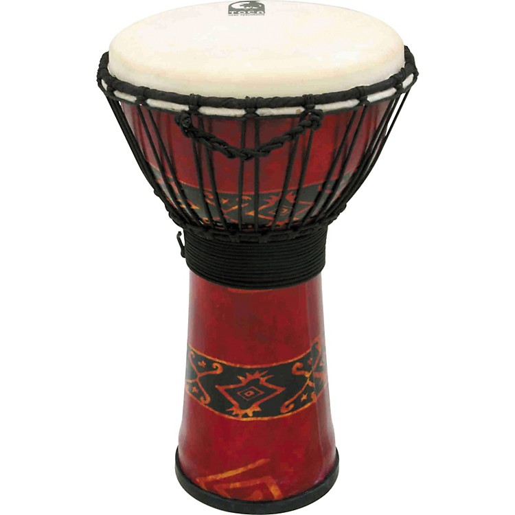 Toca Synergy Freestyle Djembe Red 10 Inches