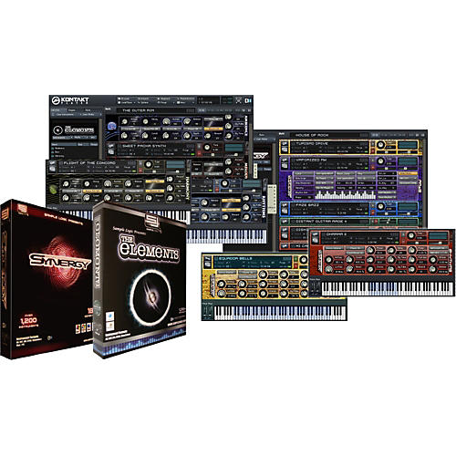 Sample Logic Synergy & The Elements EXP Virtual Instrument Library Software Combo Bundle