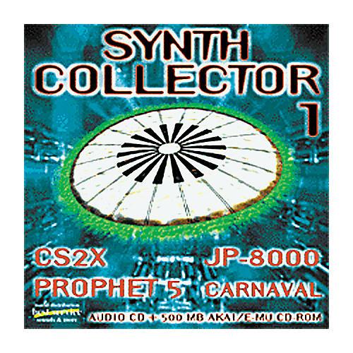 EastWest Synth Collector 1 Audio CD and Akai/E-MU Sample CD-ROM