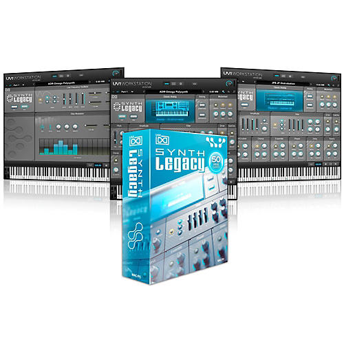 UVI Synth Legacy Software Download