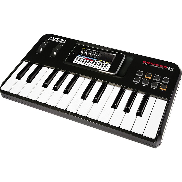Akai ProfessionalSynthStation25 Piano Keyboard for iPhone and iTouch