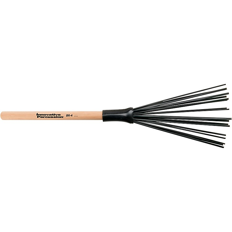 Innovative Percussion Synthetic Wood Handle Brushes Heavy