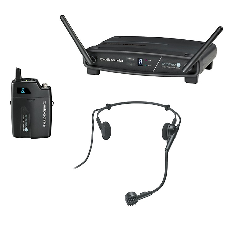 Audio-Technica System 10 2.4GHz Digital Wireless Headset System w/ PRO-8HECW