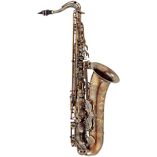 P. Mauriat System 76 Professional Tenor Saxophone Un-Lacquered with O F#