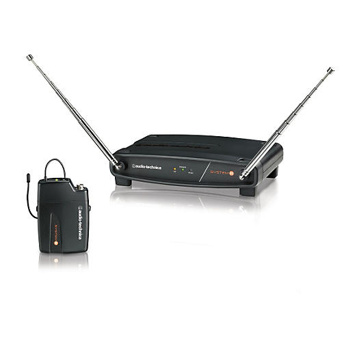 Audio-Technica System 8 Wireless System includes: ATW-R800 Receiver and ATW-T801 UniPak Transmitter 171.905 MHz
