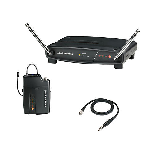 Audio-Technica System 8 Wireless System includes: Guitar/Instrument