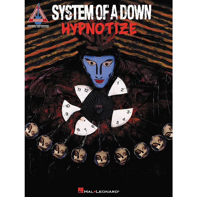 Hal LeonardSystem Down Hypnotize Guitar Tab Songbook