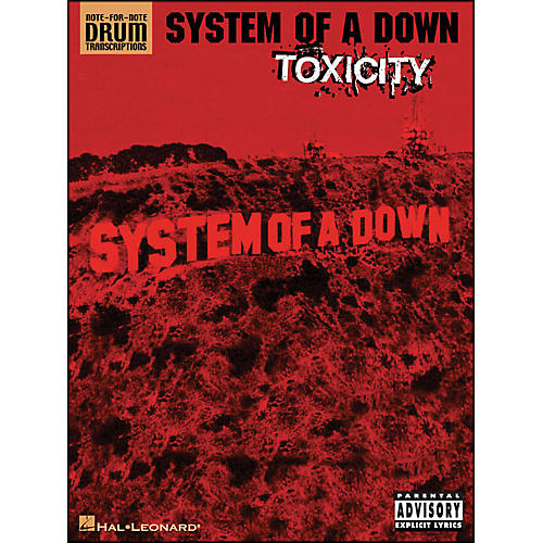 Hal Leonard System Of A Down Toxicity Note for Note Drum Transcriptions