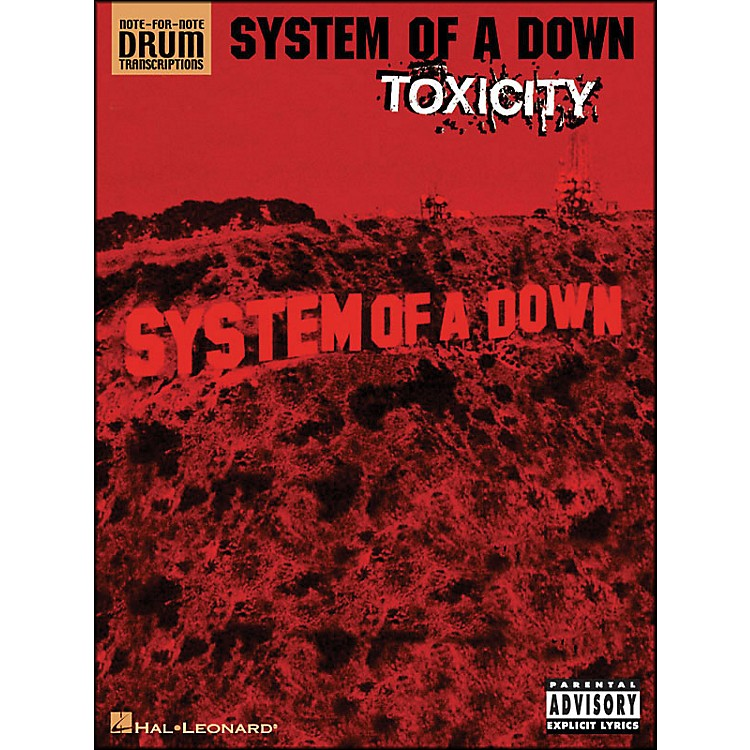 Hal LeonardSystem Of A Down Toxicity Note for Note Drum Transcriptions