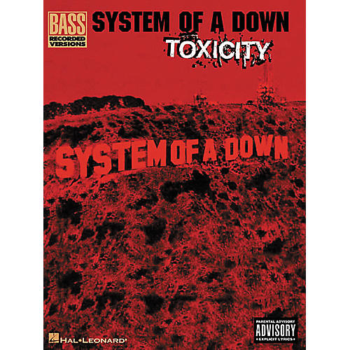 Hal Leonard System of a Down Toxicity Bass Guitar Tab Songbook