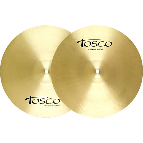 Tosco T-1 Medium Hi-Hat Cymbals-thumbnail
