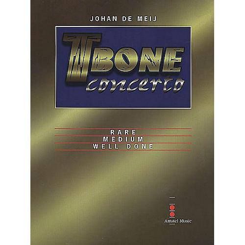Amstel Music T-Bone Concerto (Full Score) Concert Band Level 5-6 Composed by Johan de Meij-thumbnail