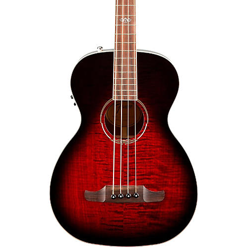 Fender T-Bucket 300-CE Acoustic Electric Bass Transparent Cherry Burst