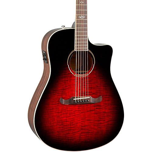 fender t bucket 300 ce v3 acoustic electric guitar transparent cherry burst musician 39 s friend. Black Bedroom Furniture Sets. Home Design Ideas