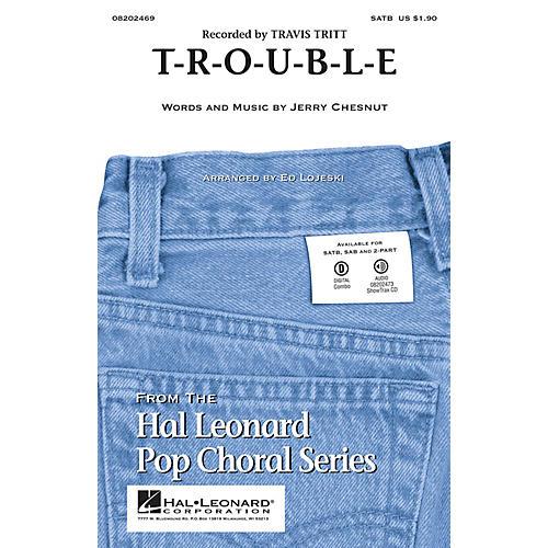 Hal Leonard T-R-O-U-B-L-E ShowTrax CD by Travis Tritt Arranged by Ed Lojeski-thumbnail