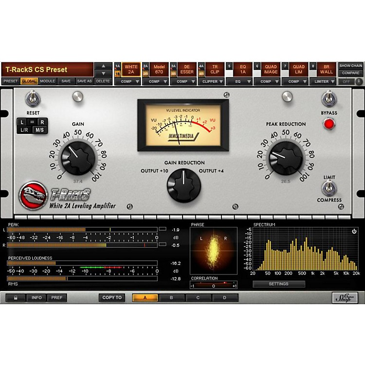IK Multimedia T-RackS Grand Mastering Software Download Software Download