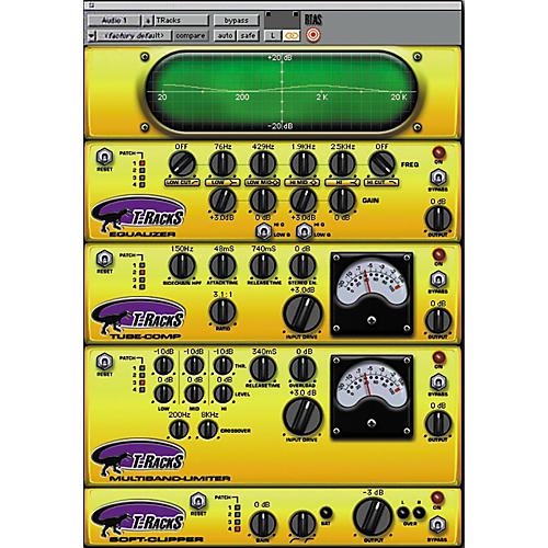 IK Multimedia T-Racks Mastering (Digi Bundle) EQ Upgrade to T-RackS Full Version