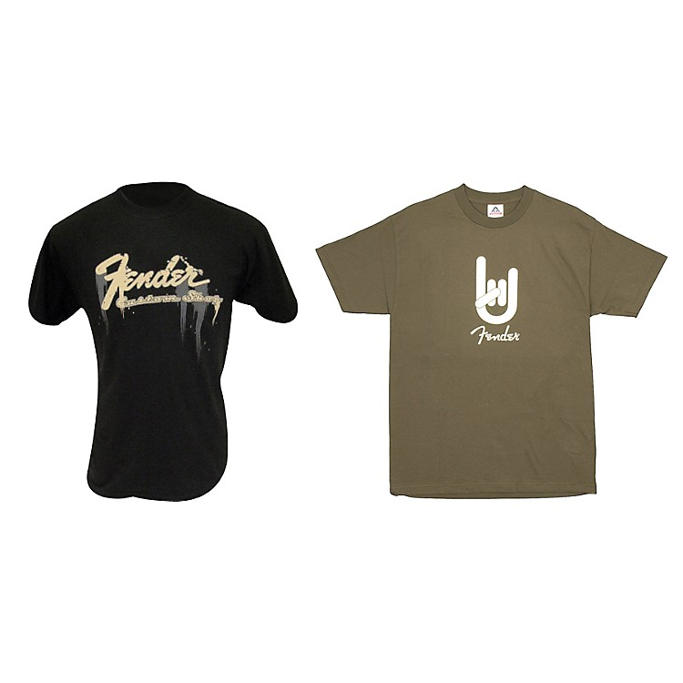 Fender T-Shirt Package XXLarge