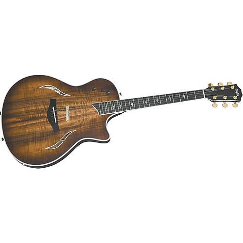 Taylor T5 Custom Electric Guitar with Koa Top (2010 Model)-thumbnail
