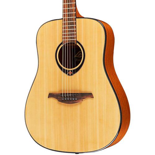 Lag Guitars T66D Dreadnought Acoustic Guitar Natural