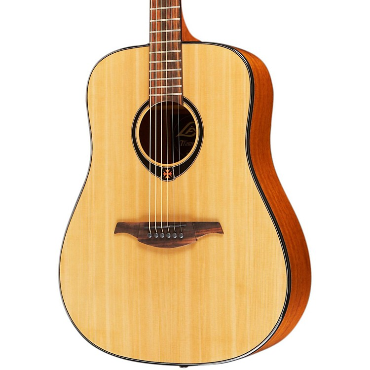Lag Guitars T66D Dreadnought Acoustic Guitar Natural