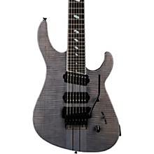 Caparison Guitars TAT Special 7 FM 7-String Electric Guitar Transparent Black Stain