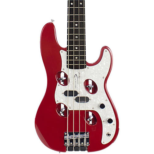 Traveler Guitar TB-4P Electric Travel Bass Red