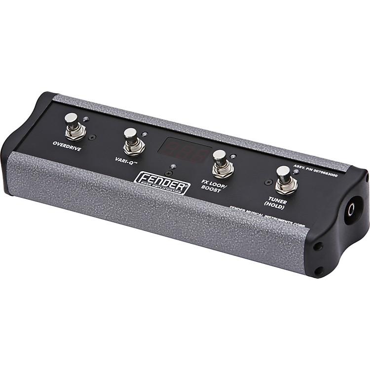 Fender TBFS-4 4-Button Footswitch for TB1200/600 Bass Amps