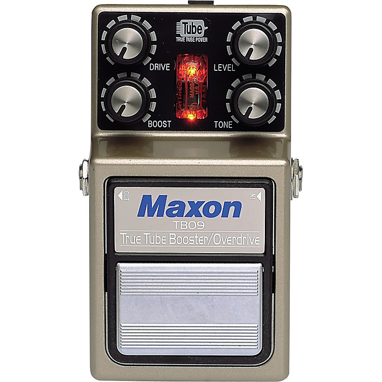 Maxon TBO-9 True Tube Booster/Overdrive Guitar Effects Pedal