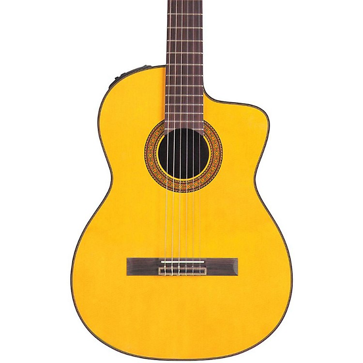 Takamine TC132SC Acoustic-Electric Nylon String Guitar Natural