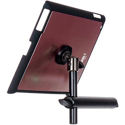On-Stage Stands TCM9160 Tablet Mounting System with Snap-On Cover Muave