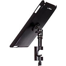 On-Stage Stands TCM9161 Quick Disconnect Tablet Mounting System with Snap-On Cover Black