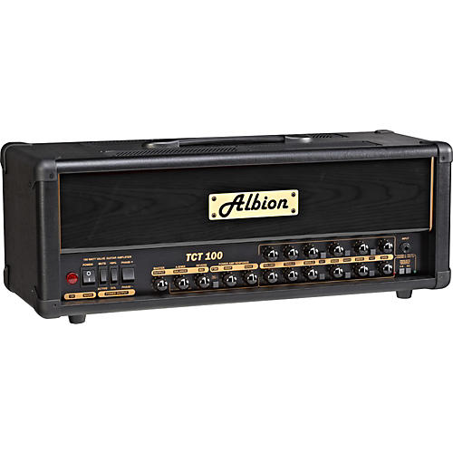 Albion Amplification TCT Series TCT100H 100W Tube Guitar Amp Head