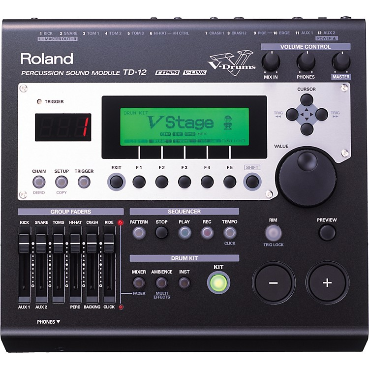 RolandTD-12 COSM-modeling drum module