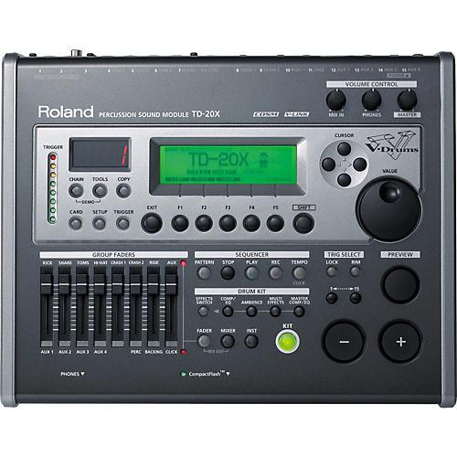 Roland TD-20X Percussion Sound Module-thumbnail