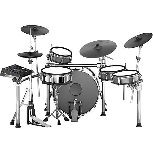 Roland TD-50KV Electronic Drum Kit with Acoustic Bass Drum-thumbnail