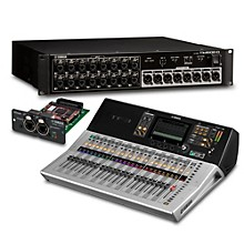 Yamaha TF3 24-Ch Digital Mixer with Tio1608-D Dante Stage Box and Expansion Card
