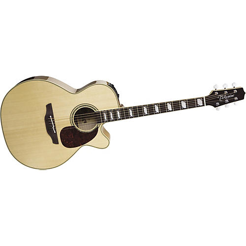 Takamine TF450GC Sante Fe NEX Flame Maple Acoustic-Electric Guitar-thumbnail