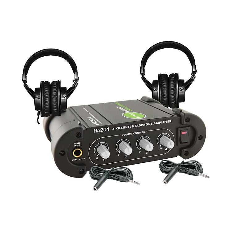 TASCAMTH-200X Headphone Amp Package