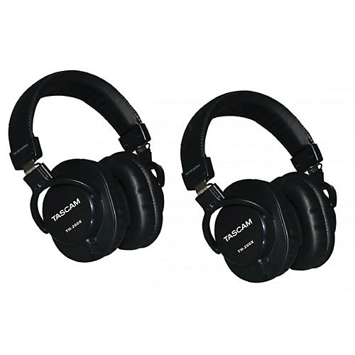 Tascam TH-200X Studio Headphones (2-Pack)