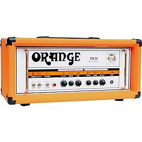 orange amplifiers th30h 30w tube guitar amp head orange musician 39 s friend. Black Bedroom Furniture Sets. Home Design Ideas