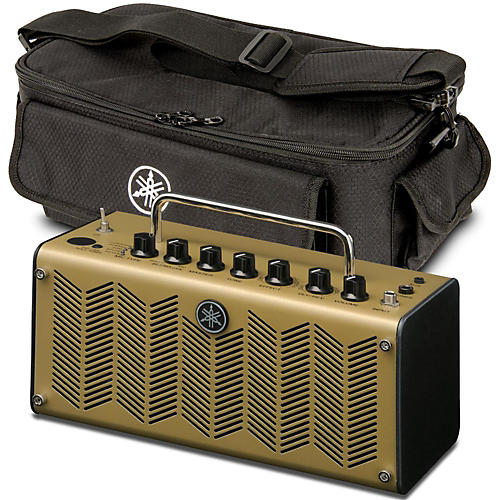 Yamaha THR5A Amp Head and Amp Bag Faded Gold
