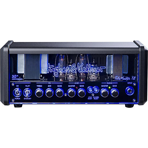 Hughes & Kettner TM18H Anniversary TubeMeister Tube Guitar Head with FREE FS2 Footswitch and Padded Bag-thumbnail