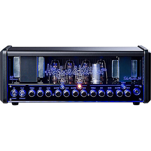 Hughes & Kettner TM36H Anniversary TubeMeister Tube Guitar Head with FREE FS2 Footswitch and Padded Bag-thumbnail