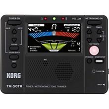 Korg TM50TR Tuner/Metronome/Tone Trainer Black