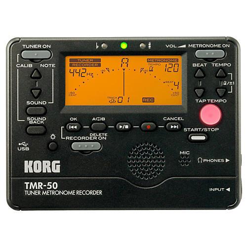 Korg TMR50BK Tuner Metronome Recorder