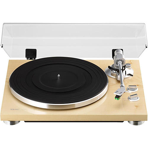 TEAC TN-300 Analog Record Player with Phono EQ and USB Natural