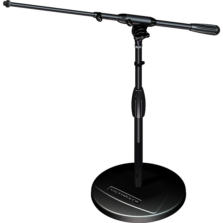 Ultimate Support TOUR-RB-T Round Base Mic Stand with Telescoping Boom