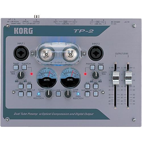 Korg TP-2 2-Channel Tube Preamp